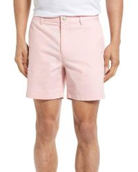 Bonobos | Pink Stretch Chino 5 Inch Shorts for Men | Lyst