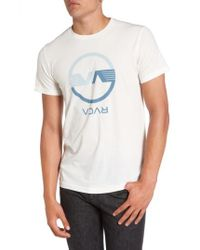 RVCA | White Va Wings Graphic T-shirt for Men | Lyst