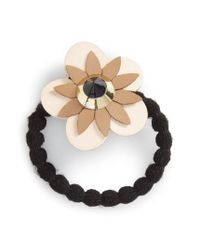 Cara | Pink Flower Ponytail Holder | Lyst