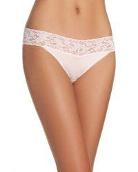 Hanky Panky | Pink Cotton & Modal Vikini Bikini | Lyst