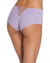 Honeydew Intimates | Multicolor Tie Back Hipster Panties | Lyst