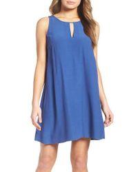 BB Dakota | Blue Phoebe Shift Dress | Lyst