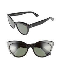 Oliver Peoples | Black Roella 55mm Polarized Cat Eye Sunglasses | Lyst