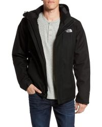 The North Face | Black Inlux Triclimate Waterproof 3-in-1 Jacket for Men | Lyst