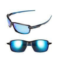 Oakley | Blue Carbon Shift 62mm Sunglasses | Lyst