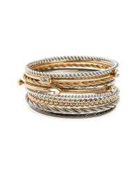 Treasure & Bond | Metallic Set Of 11 Bangles | Lyst