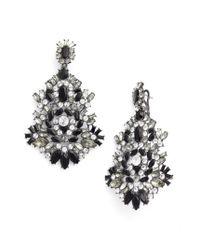 Givenchy | Metallic Phoenix Drama Chandelier Earrings | Lyst