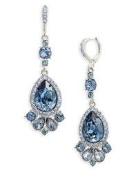 Givenchy | Blue Verona Large Pear Drop Earrings | Lyst