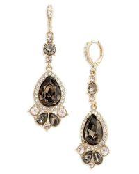Givenchy | Metallic Verona Large Pear Drop Earrings | Lyst