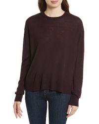 Equipment | Brown Irene Wool Blend Sweater | Lyst