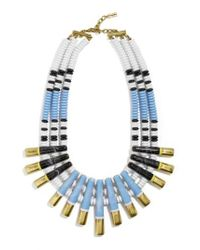 BaubleBar | Blue Tiziana Statement Necklace | Lyst