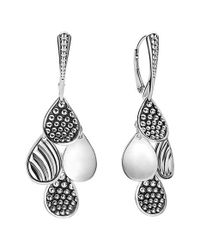 Lagos | Metallic Caviar Tiered Drop Earrings | Lyst