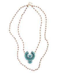 Shashi - Metallic Jody Necklace - Lyst