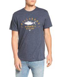 Billabong | Blue Tuner Hi Graphic T-shirt for Men | Lyst