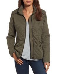 Kut From The Kloth | Green Beatriz Quilted Jacket | Lyst