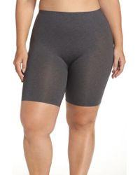 Spanx | Gray Spanx 'thinstincts' Mid Thigh Shaper | Lyst