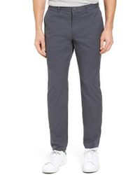 Bonobos   Blue Straight Fit Washed Chinos for Men   Lyst