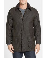 Barbour | Green 'classic Beaufort' Relaxed Fit Waxed Cotton Jacket for Men | Lyst