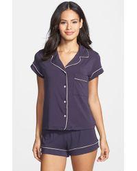 Eberjey | Purple 'gisele' Shorty Pajamas | Lyst