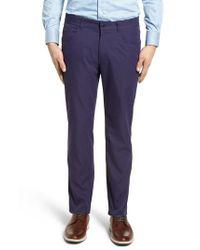 Peter Millar - Blue Eb66 Twill Performance Pants for Men - Lyst