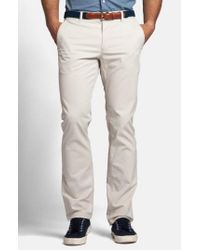Bonobos - Gray Slim Fit Washed Chinos for Men - Lyst