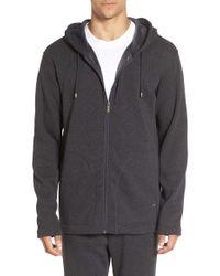 Ugg | Gray Ugg 'bownes' Zip Hoodie for Men | Lyst