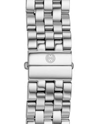 Michele - Metallic 'urban' 20mm Bracelet Watchband - Lyst