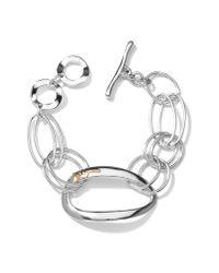 Ippolita - Metallic 'scultura' Link Bracelet - Lyst