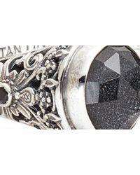 Konstantino Metallic Santorini Hematite Hinge Bracelet
