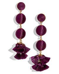 BaubleBar | Purple Tango Ball Drop Earrings | Lyst