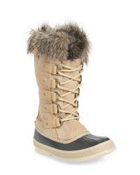 Sorel - Multicolor 'joan Of Arctic' Waterproof Snow Boot - Lyst