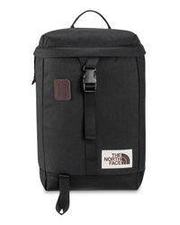 The North Face Black Water Repellent Top Loader Daypack