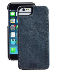 Sena - Blue Heritage Lugano Leather Iphone 6/6s Case for Men - Lyst