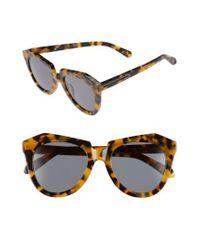e247d8e97742 Lyst - Karen Walker  number One  50mm Sunglasses - Crazy Tortoise in ...