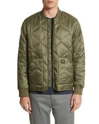 Carhartt WIP - Green Quilted Ripstop Bomber Jacket for Men - Lyst