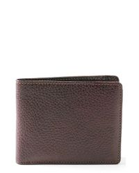 Boconi | Brown 'tyler' Rfid Wallet for Men | Lyst