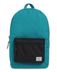 Herschel Supply Co. - Green Settlement Backpack - Lyst