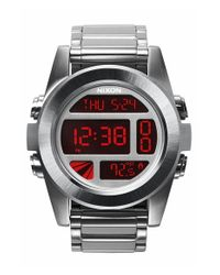 Nixon | 'the Unit' Bracelet Watch | Lyst