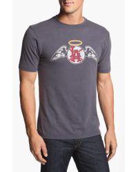 Red Jacket - Blue 'los Angeles Angels' Trim Fit T-shirt for Men - Lyst