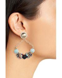 Akola Blue Zain Drop Earrings