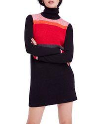 Free People - Multicolor Winter Break Sweater Dress - Lyst