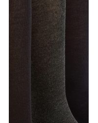 Polo Ralph Lauren Multicolor Assorted 3-pack Supersoft Socks, Black for men