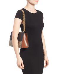 Gucci Multicolor Medium Padlock Leather Shoulder Bag