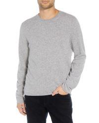 Vince Gray Regular Fit Cashmere Sweater for men