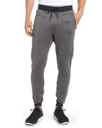 Under Armour Gray Sportstyle Slim Fit Knit Jogger Pants for men