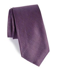 Nordstrom Purple Charlie Dots Silk Tie for men