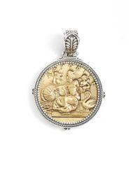 Konstantino - Metallic 'aphrodite' Coin Pendant - Lyst