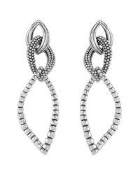 Lagos | Metallic Open Drop Earrings | Lyst