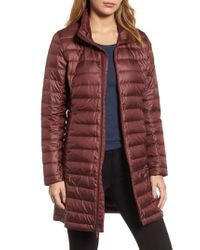 Patagonia | Red Fiona Water Repellent 600-fill-power Down Parka | Lyst