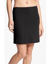 Calvin Klein Black Half Slip